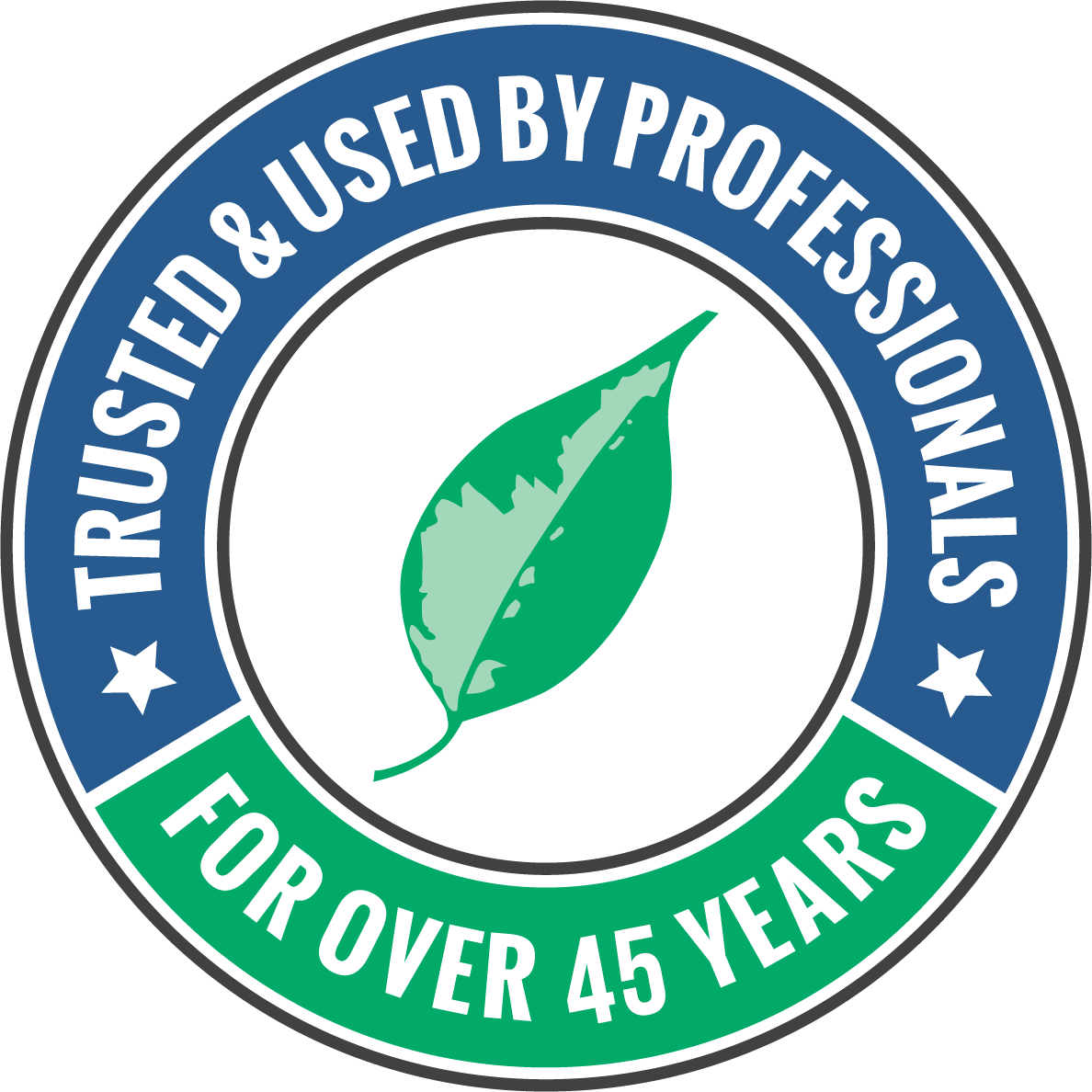 Trusted & Used By Professionals For Over 45 Years
